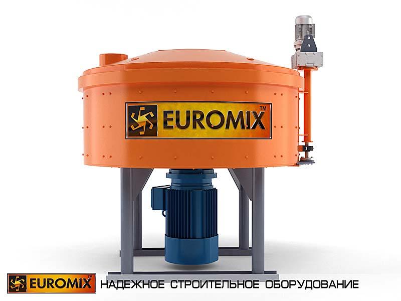 смеситель бетона EUROMIX 600.750